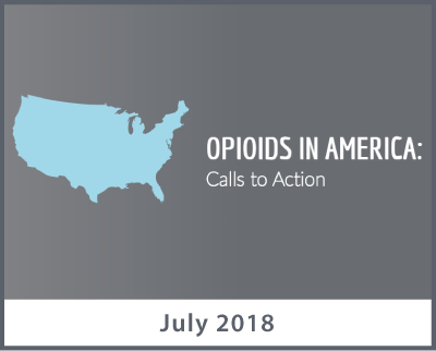 Opioids in America: Calls to Action