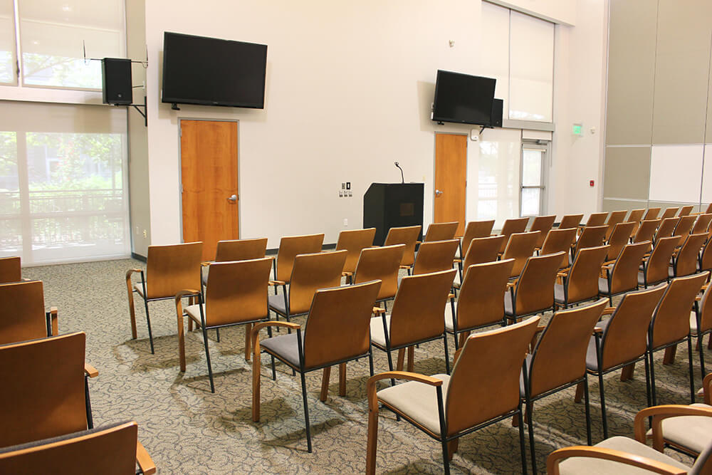 Central room, max 120 with chairs